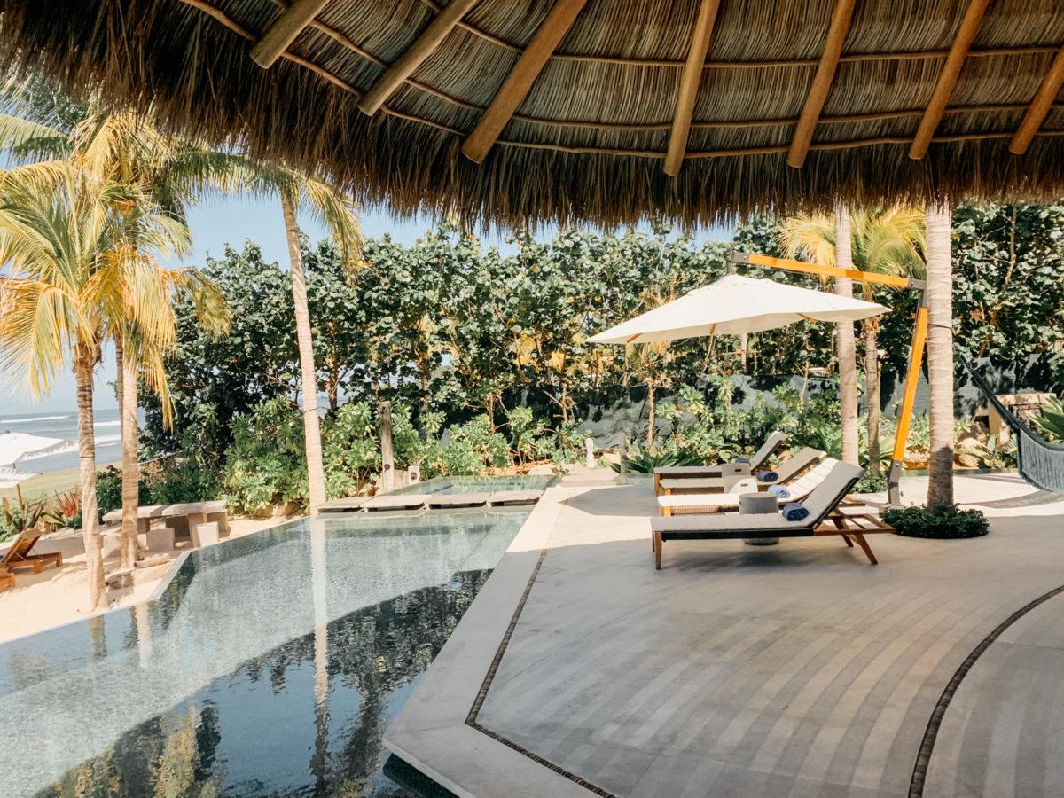 Pool in in Punta Mita, Mexico