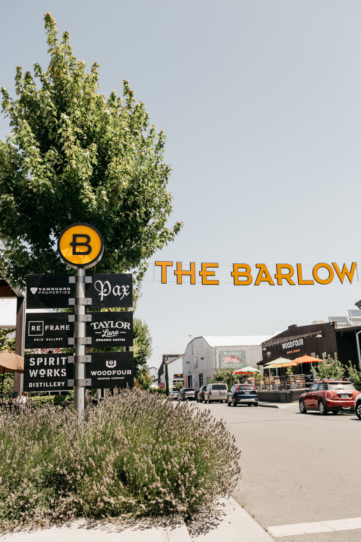 The Barlow Sonoma country travel guide
