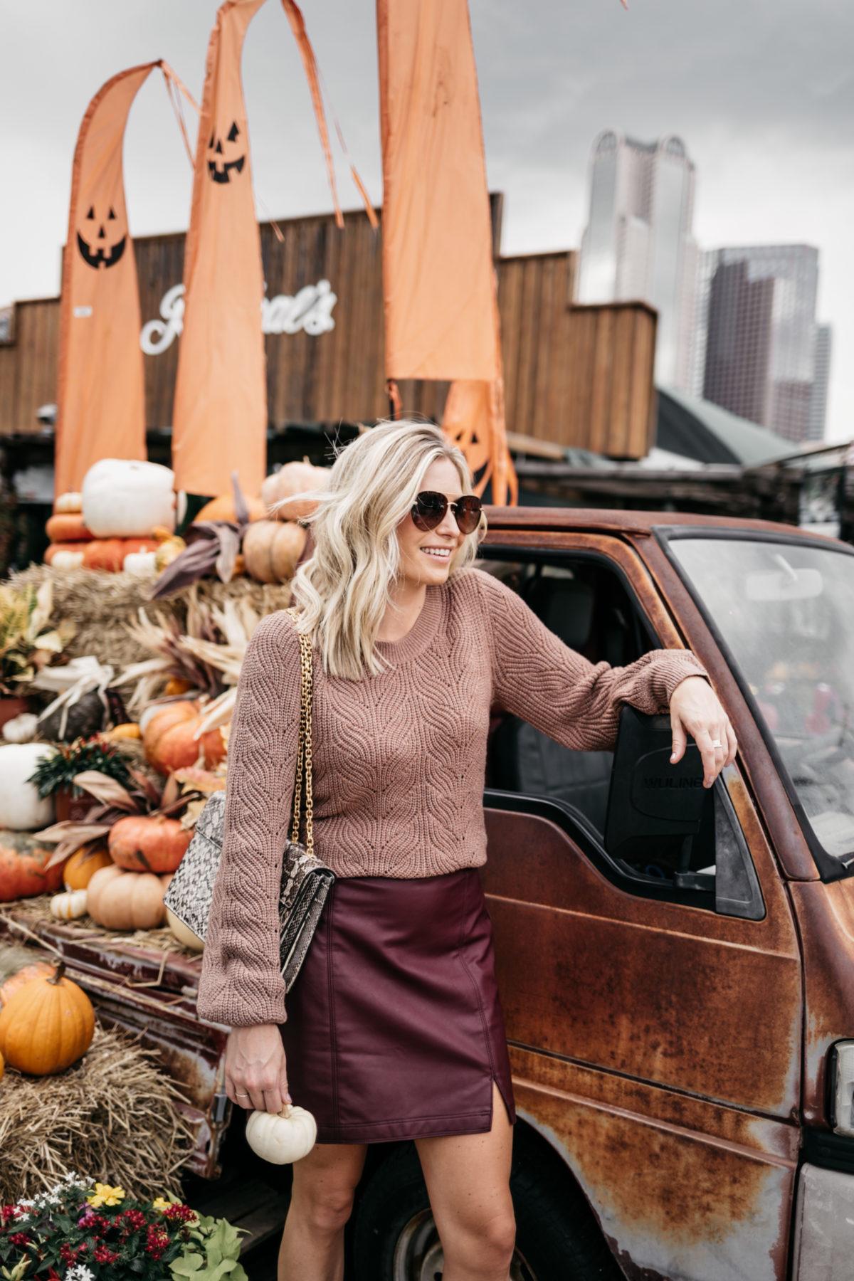 burgundu fall fashion trend
