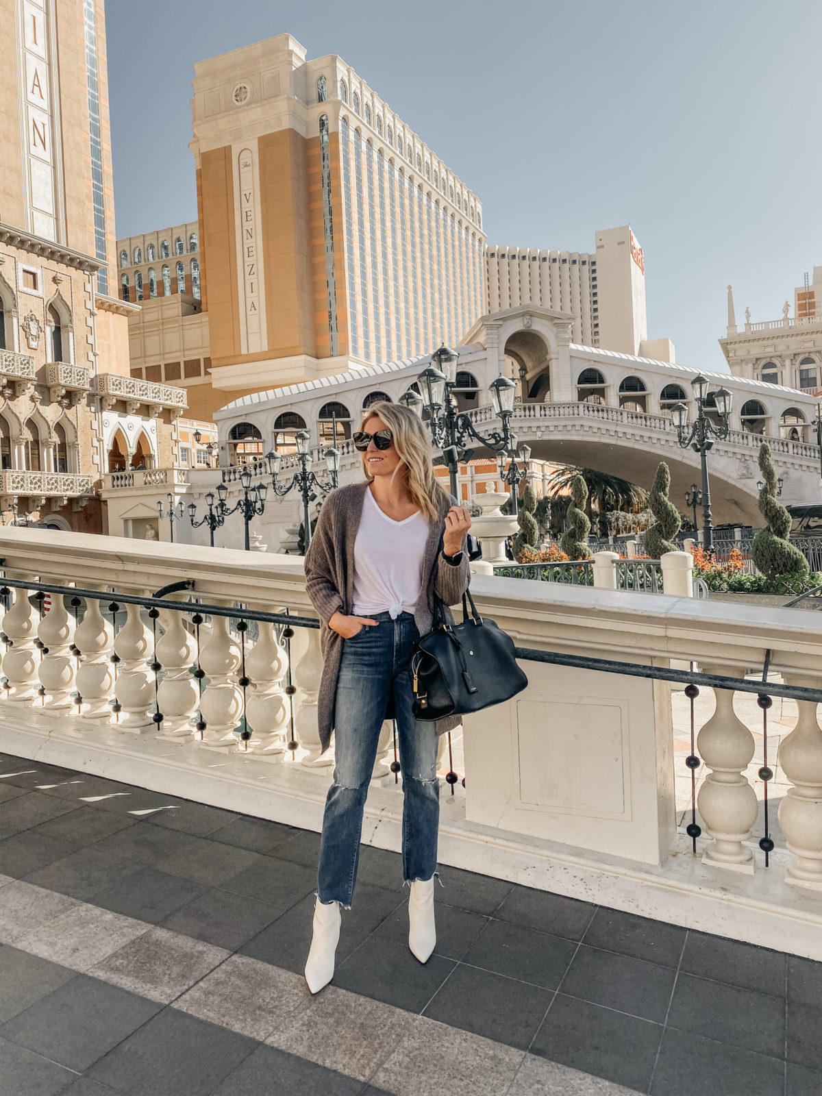 white booties - WHAT TO WEAR IN LAS VEGAS