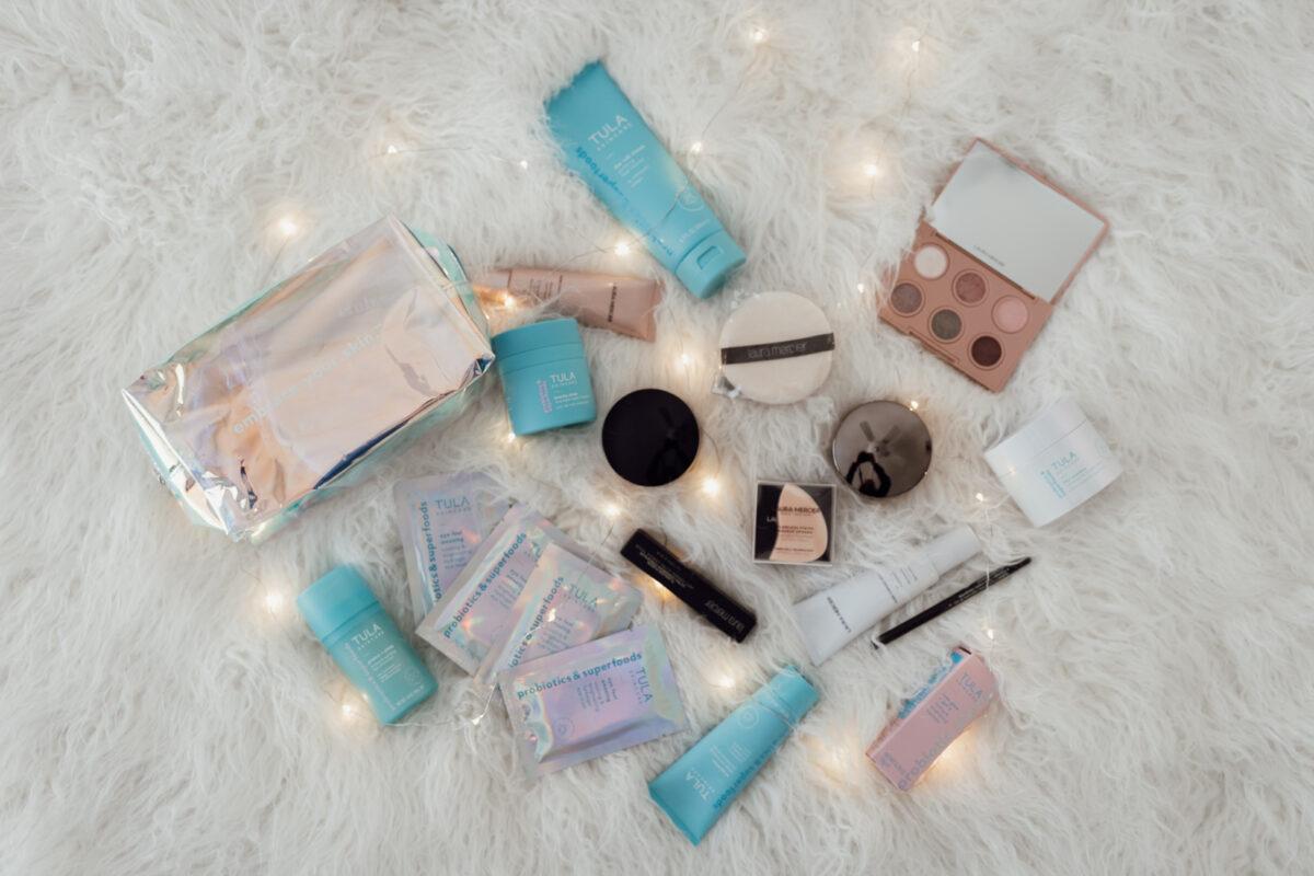 Laura Mercier + TULA makeup