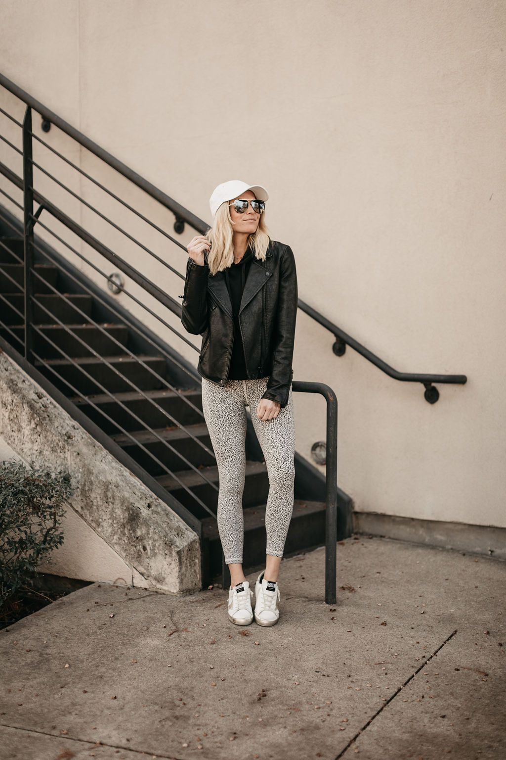 winter activewear outfit