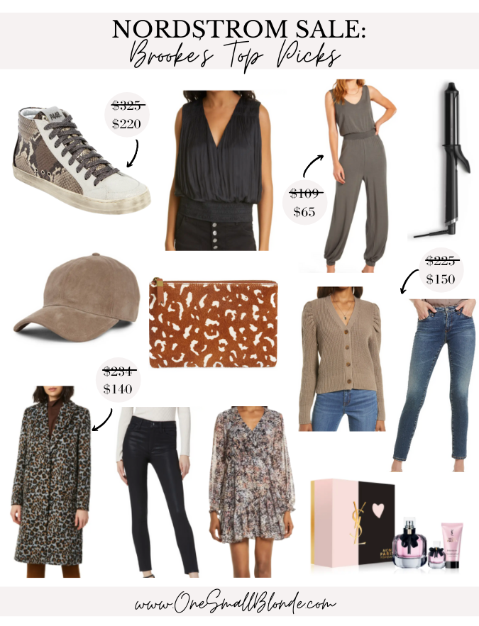 collage of shoes, clothes, and perfume for NORDSTROM ANNIVERSARY SALE TOP PICKS