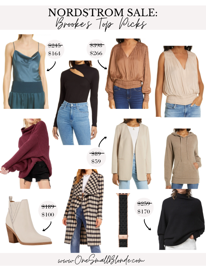 collage of NORDSTROM ANNIVERSARY SALE TOP PICKS by brooks