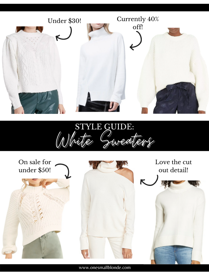 WINTER WHITE OUTFITS