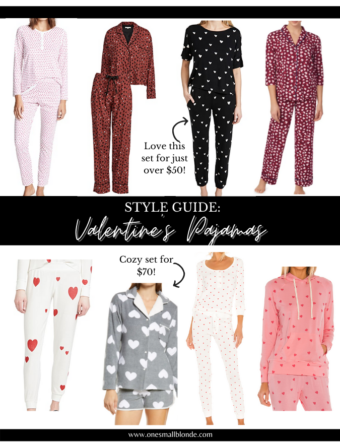 valentine's day pajama