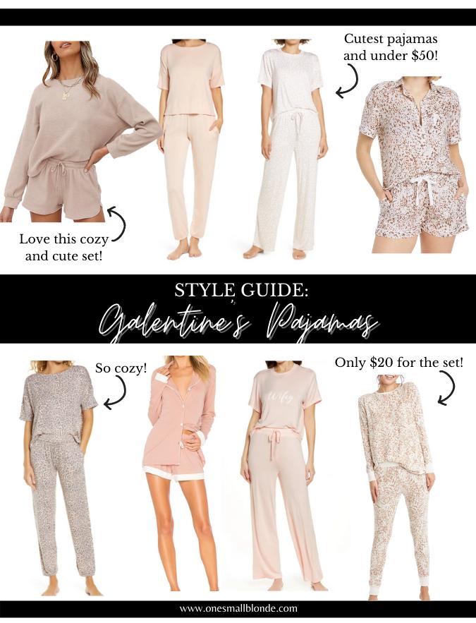 galentine's day pajamas