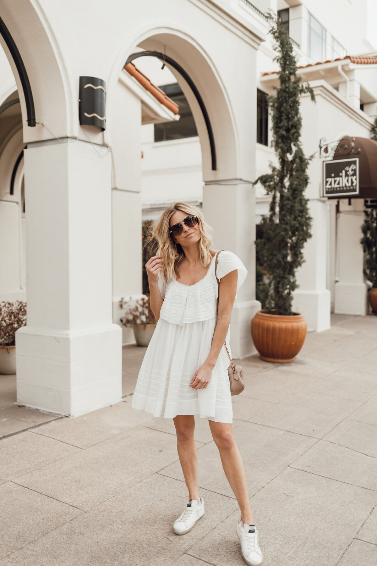 spring summer airy outfit