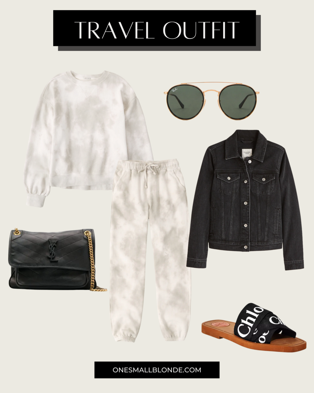 women's travel outfit